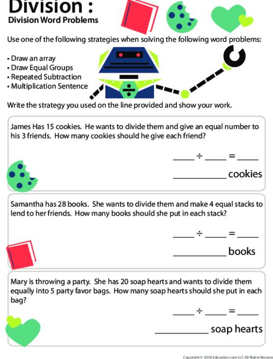 Division Lesson Plans 5th Grade Worksheets