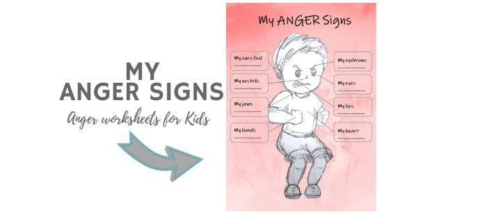 Autism Anger Management Worksheets