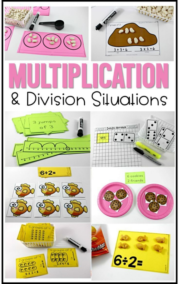 Division Lesson Plan Year 2 Worksheets