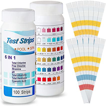 Amazoncom Bbto Count Pool Test Strips For Swimming Pool