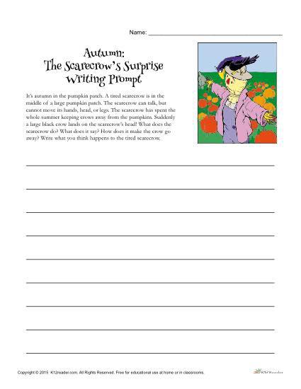 Autumn Writing Prompt