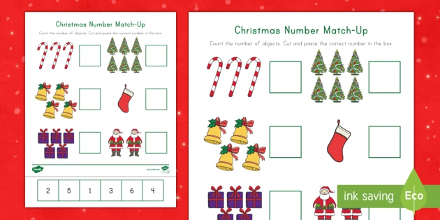 Christmas Number Match