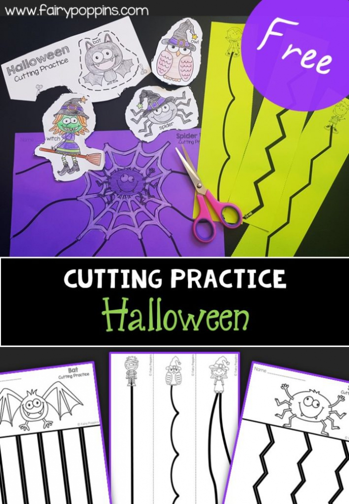 Cutting Practice Activities For Kids