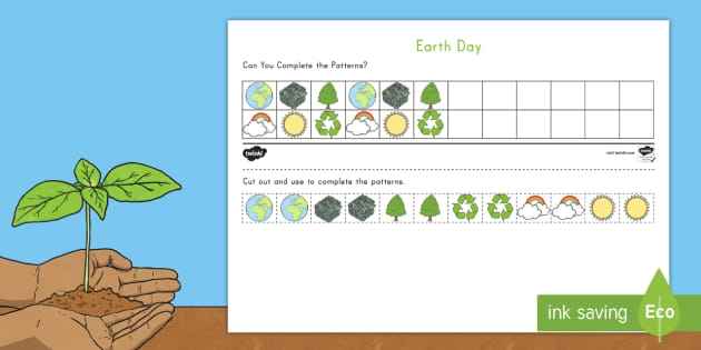 Earth Day Abc Pattern Worksheet