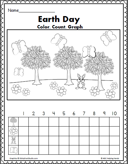 Free Earth Day Math