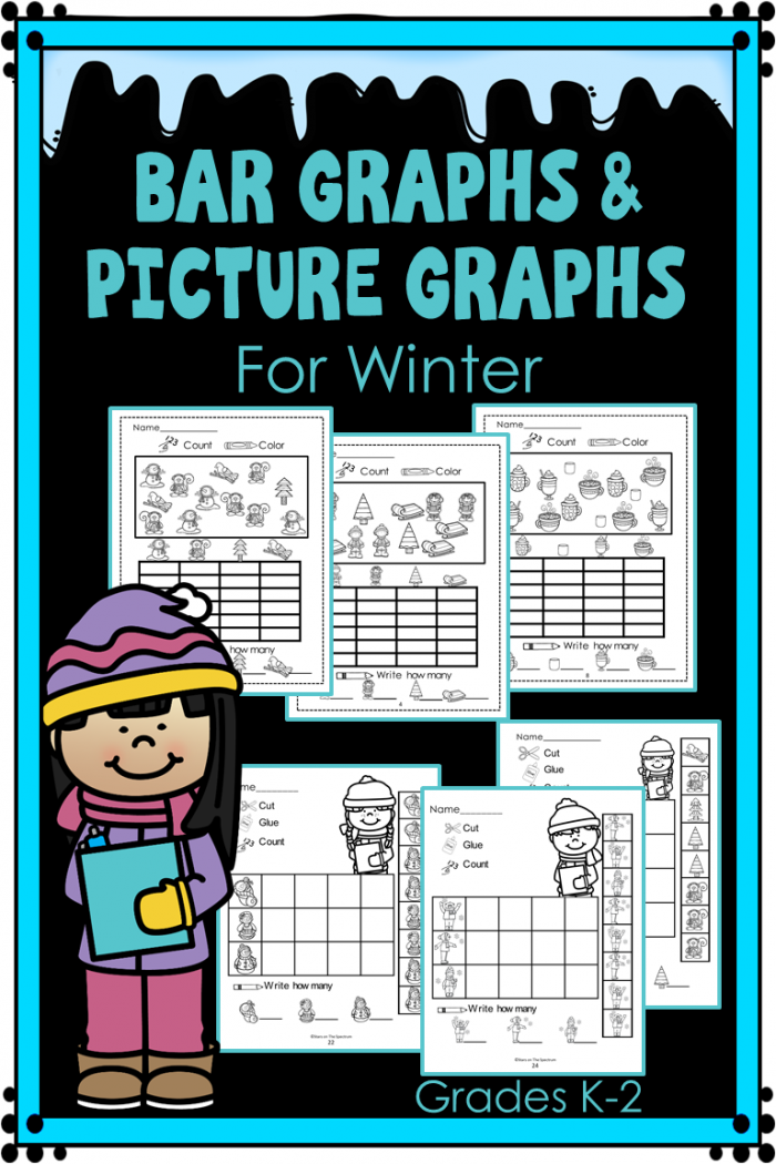 Looking For Winter Print And Go Bar Graph And Picture Graph
