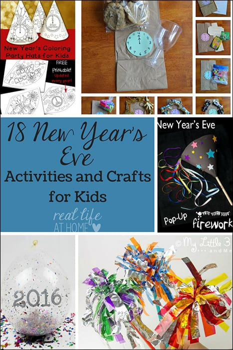 New Years Eve Activities Crafts Printables And More For Kids