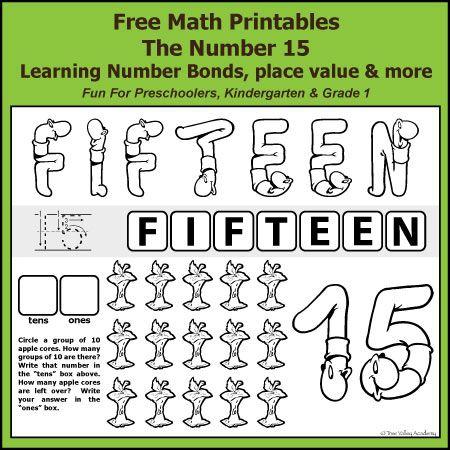 Number Bonds To Free Math Worksheets