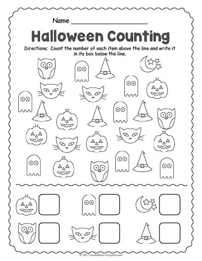 Pin On Halloween Worksheets