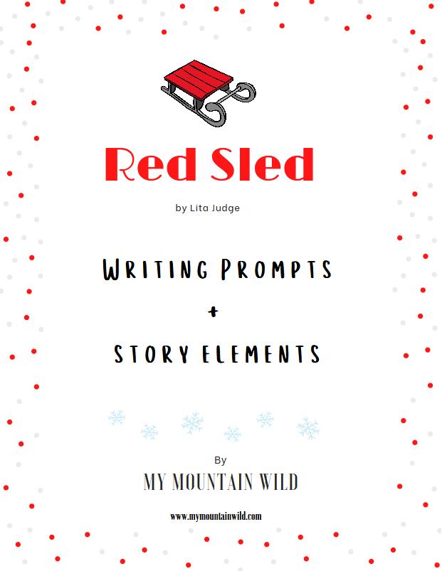 Red Sled Storytime Printable Worksheet Bundle