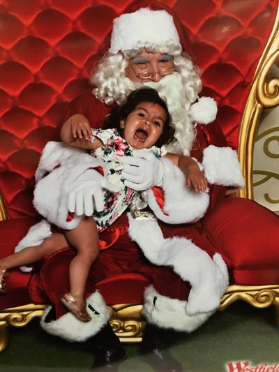 Santa Claus With Crying Children A Gallery Of Christmas Mishaps