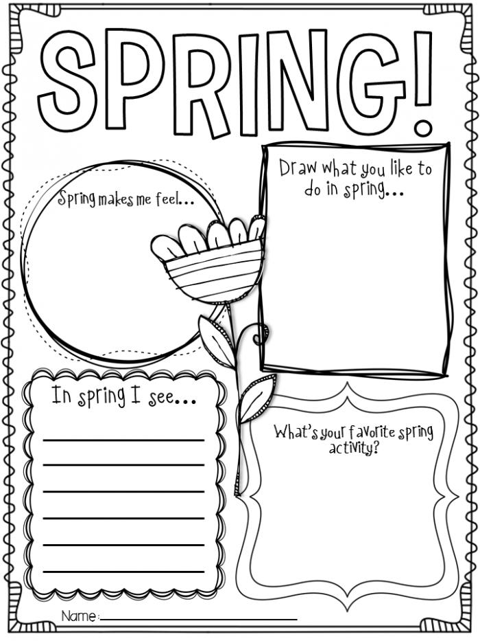 Spring Writing Ideas