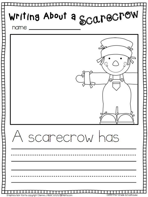Writing About A Scarecrow