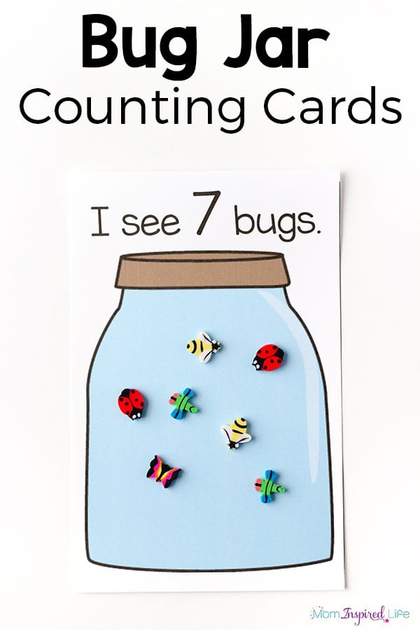 Bugs Worksheets – Count To Seven