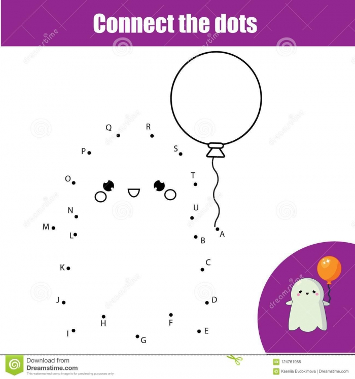 Ghost Dot To Dot (by Letters)