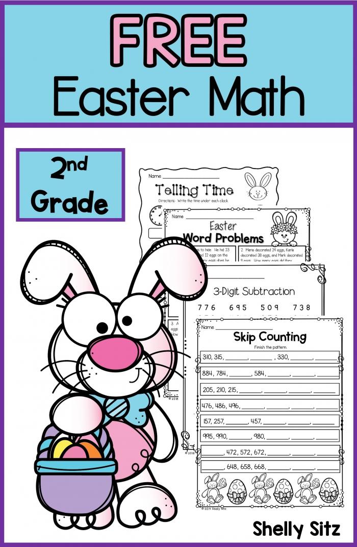 Easter Missing Addends Worksheets
