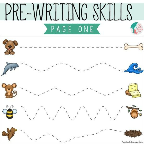 Early Writing Practice Worksheets