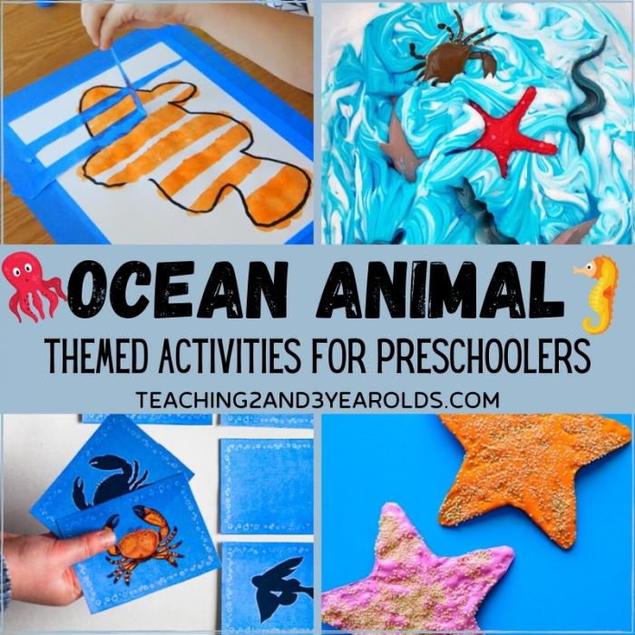 Ocean Life Worksheets For Kids