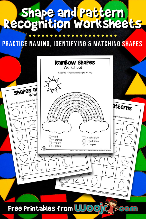 Shape And Pattern Recognition Worksheets