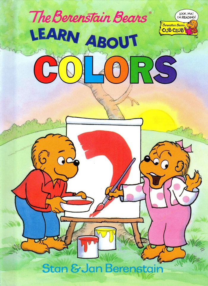 The Berenstain Bears Learn About Colors Berenstain Stan Jan