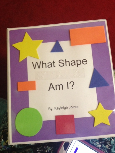 What Shape Am I A Tactile Book For Students Who Are Visually