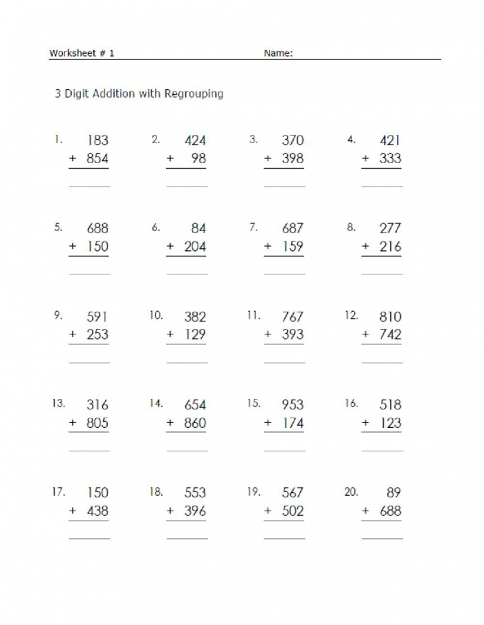Addition Interactive Exercise For Class Grade