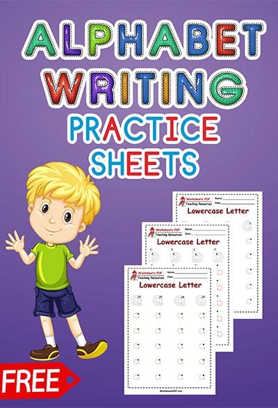 Alphabet Writing Practice Sheets