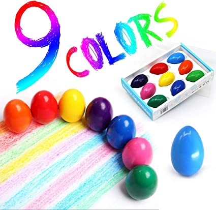 Amazoncom Egg Crayons For Toddlers