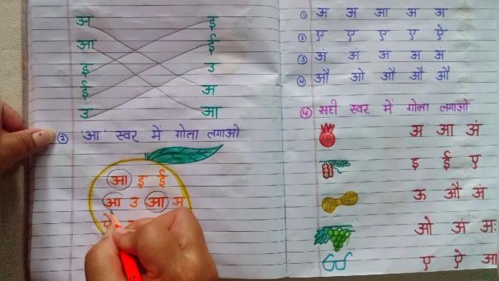 Best Hindi Worksheets For Nursery Kids