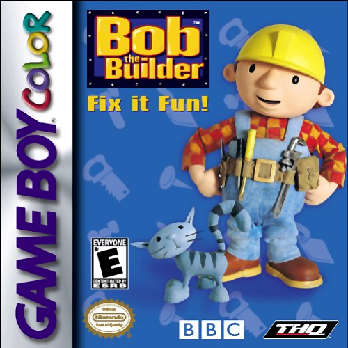 Buy Game Boy Color Bob The Builder Fix It Fun