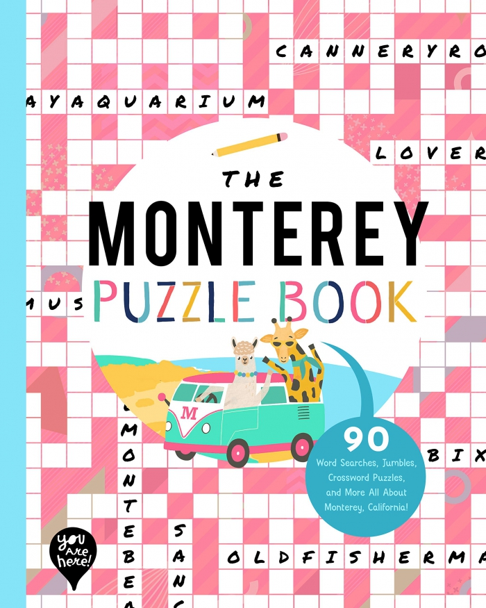 Buy The Monterey Puzzle Book Word Searches Jumbles Crossword