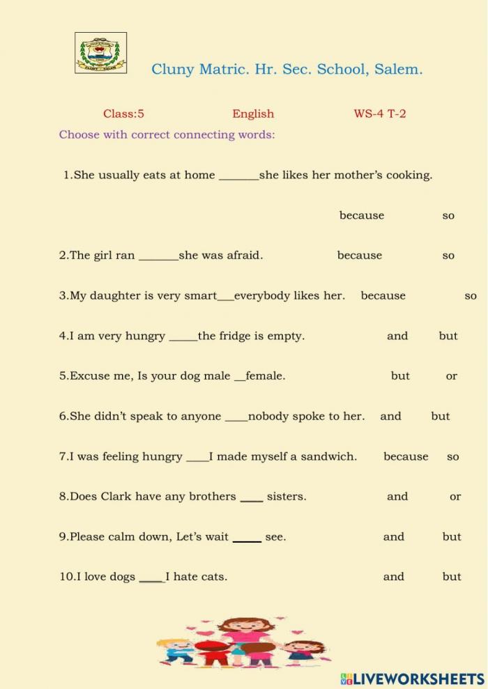 Class English Exercise