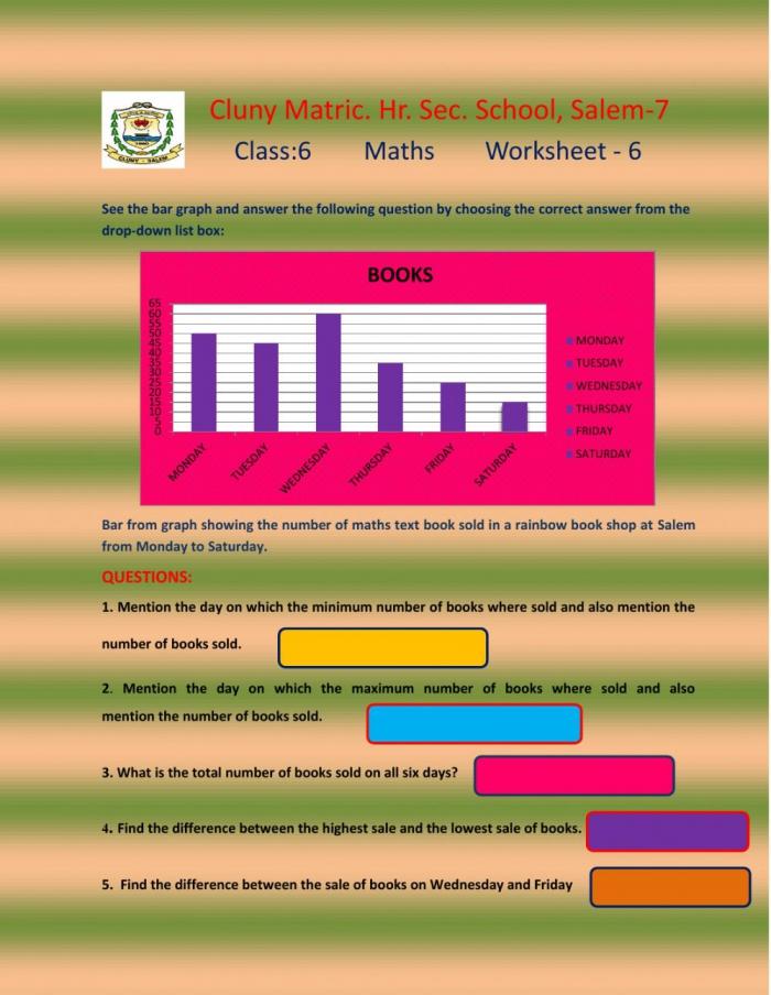 Class Maths Worksheet Worksheet