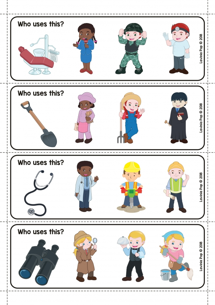 Community Helpers Preschool Centers Who Uses This Activity