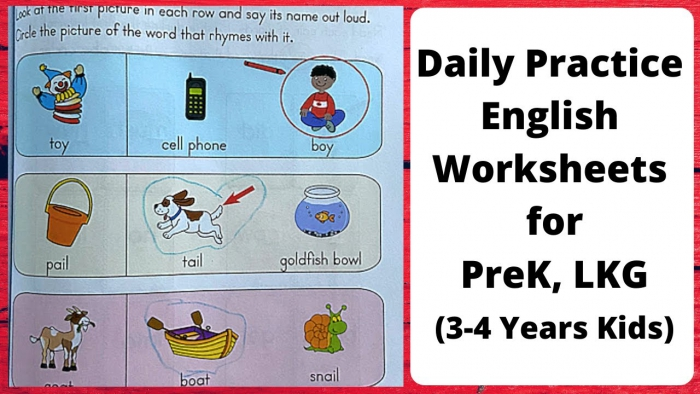 Daily Practice English Worksheets For