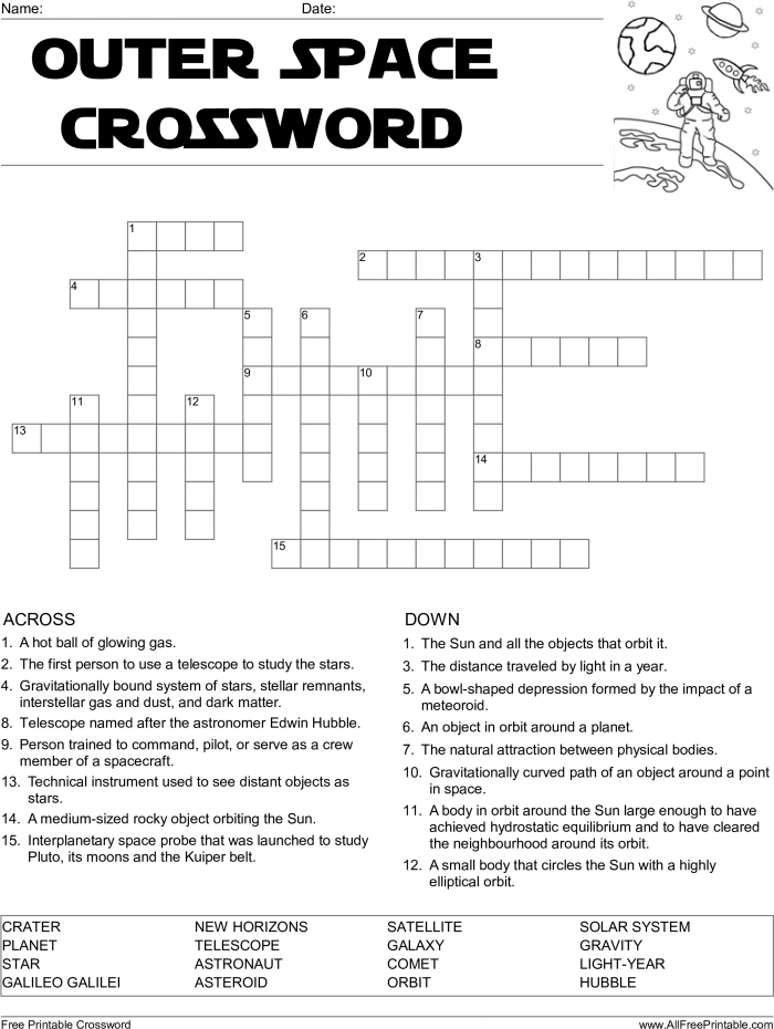 Download Crossword Puzzle Printable Template Crosswords Lovely