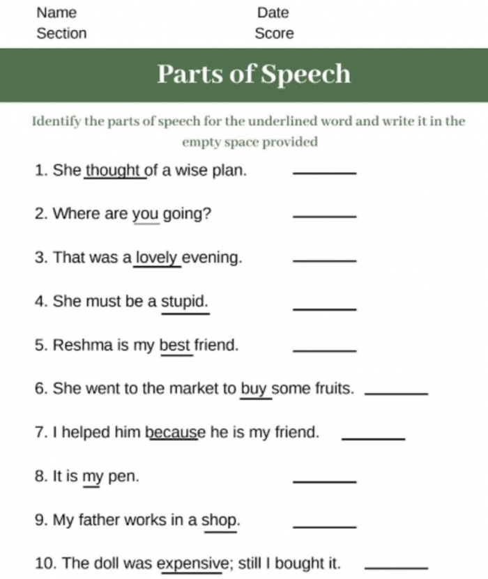 English Class Online Classes Cbse Worksheets