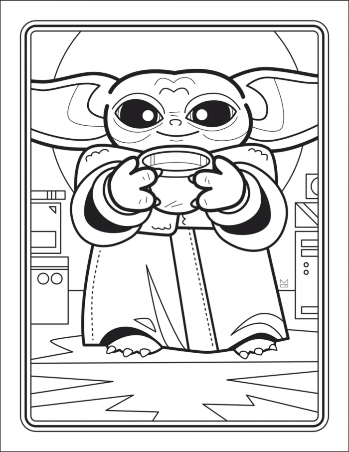 Free Coloring Pages For Kids Or Adults Who Still Have Fun