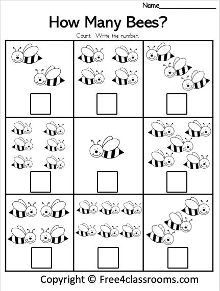Free Kinder Math