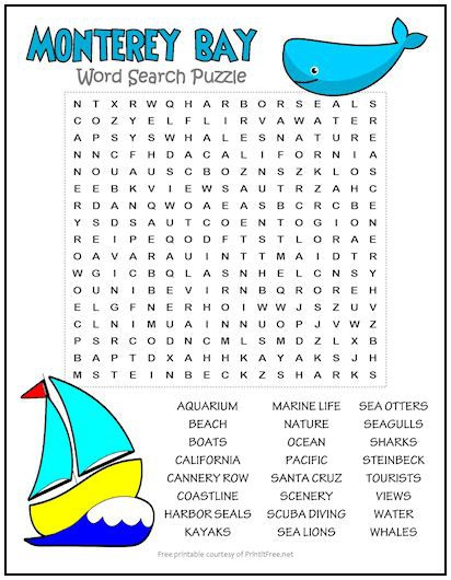 Free Printable Word Search Puzzles Ideas In