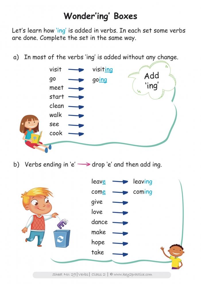 Grade English Worksheets I Set Of Workbooks