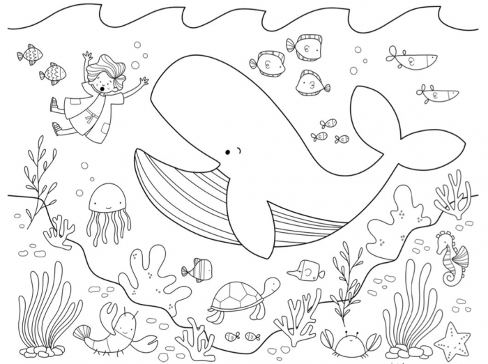 Jonah Free Coloring Page His Kids Company