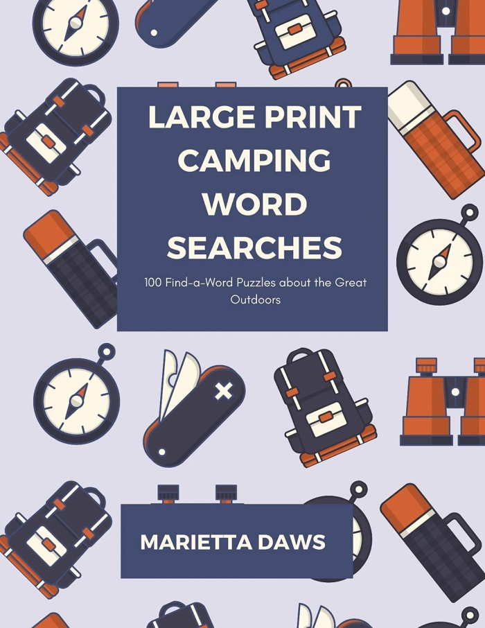Large Print Camping Word Searches Find