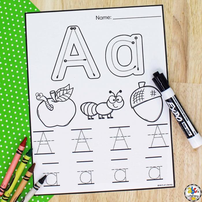 Letter Tracing Worksheets Free Printable Preschool Worksheets