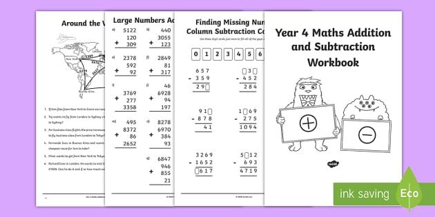 Maths Workbook Pdf