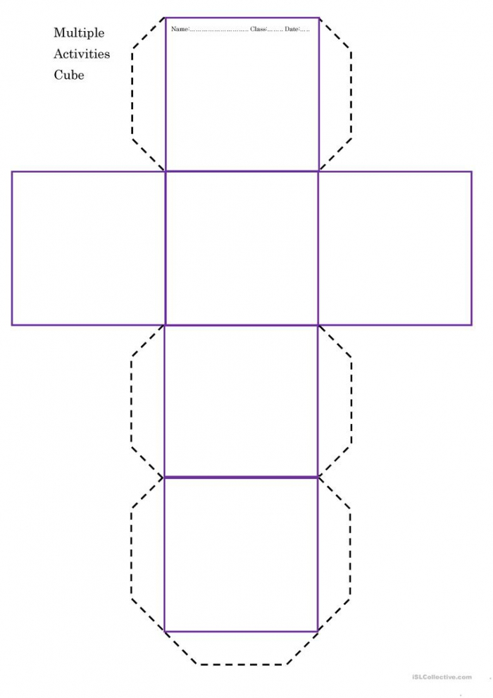 Multiple Activities Cube