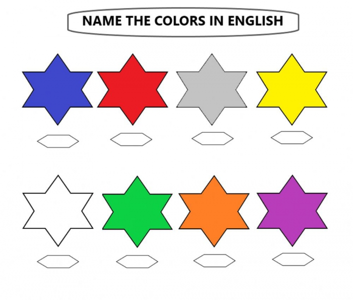 Naming And Listening To The Correct Colors Worksheet