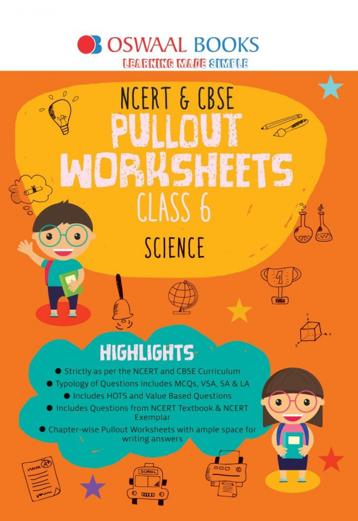Oswaal Ncert Cbse Pullout Worksheets Class Science For March