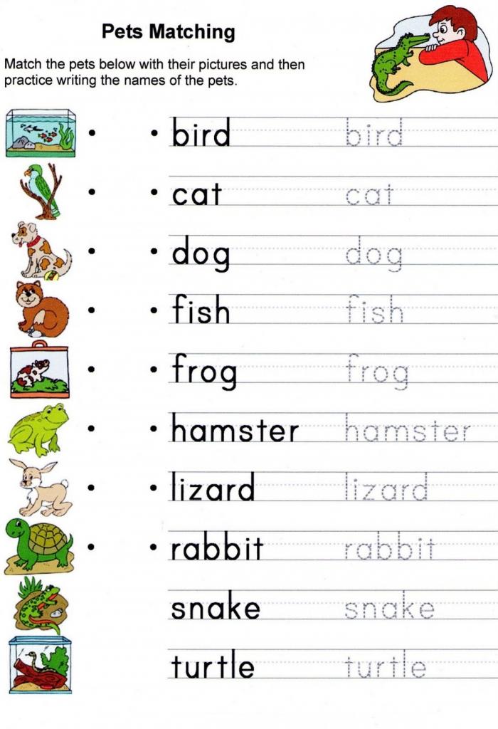 Printable Kindergarten English Worksheets Printable Kids Worksheets