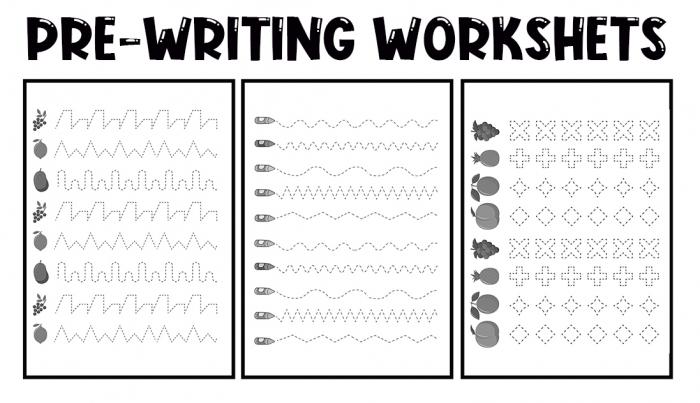Printable Prewriting Activities For Preschoolers